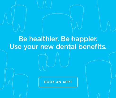 Be Heathier, Be Happier. Use your new dental benefits. - Dentists of Lake Charles