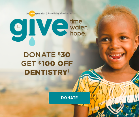 Donate $30, Get $100 Off Dentistry - Dentists of Lake Charles